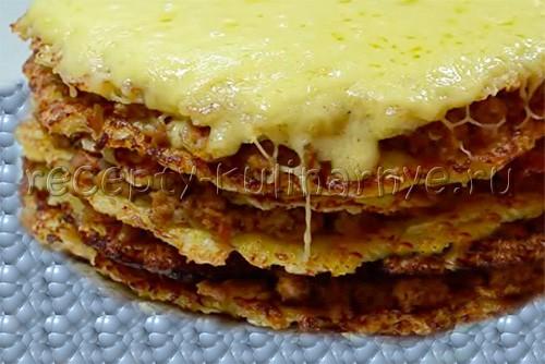 Капустный торт рецепт с пошагово