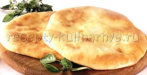 Хачапури из дрожжевого теста с сыром в духовке рецепт