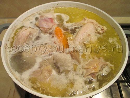 Холодец (студень) из курицы