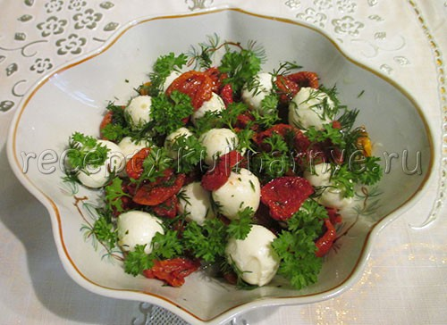 рецепты салатов с помидорами пошагово