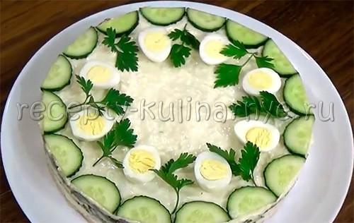 Салат «Курочка Ряба»