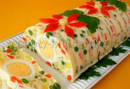 Необычные салаты на праздничный стол рецепты с