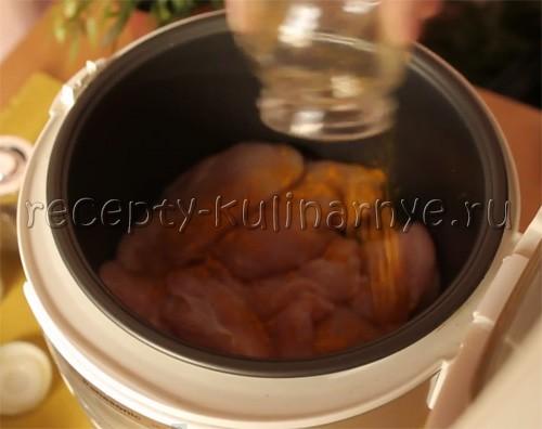 вкусные блюда в мультиварке рецепты из курицы