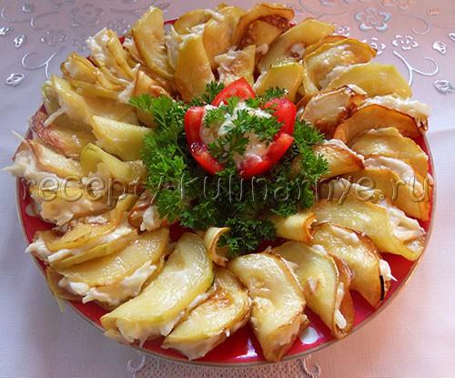 закуски из кабачков на фото